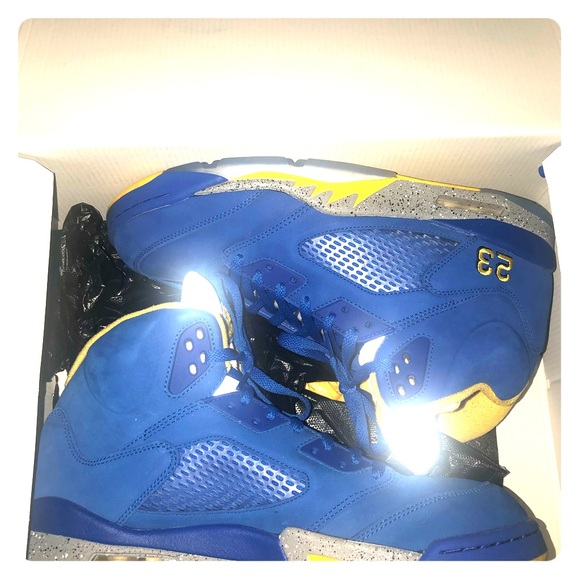 huge discount 77292 7453a Nike Air Jordan 5 Retro LANEY HIGH VARSITY Ry blue